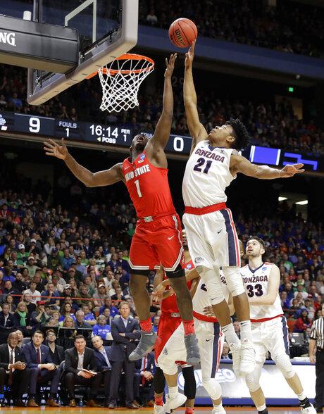 NCAA Ohio St Gonzaga Basketball