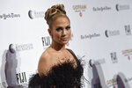 Jennifer Lopez attends the Independent Filmmaker Project's 29th annual IFP Gotham Awards at Cipriani Wall Street on Monday Dec. 2, 2019, in New York. (Photo by Evan Agostini/Invision/AP)
