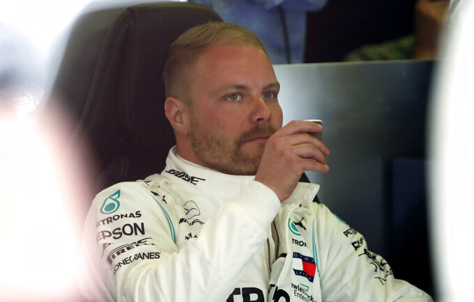 Bottas, Hamilton top Spanish GP practice for Mercedes