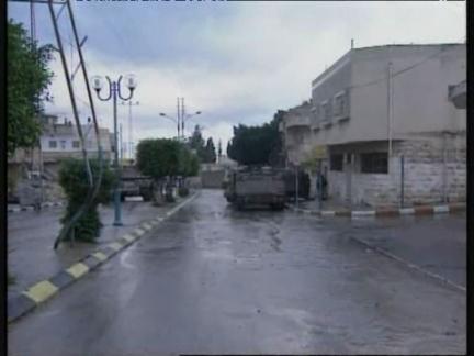 Middle East West Bank Tulkarem Tanks