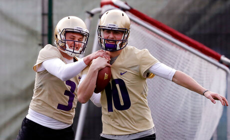 Jake Browning, Jacob Eason