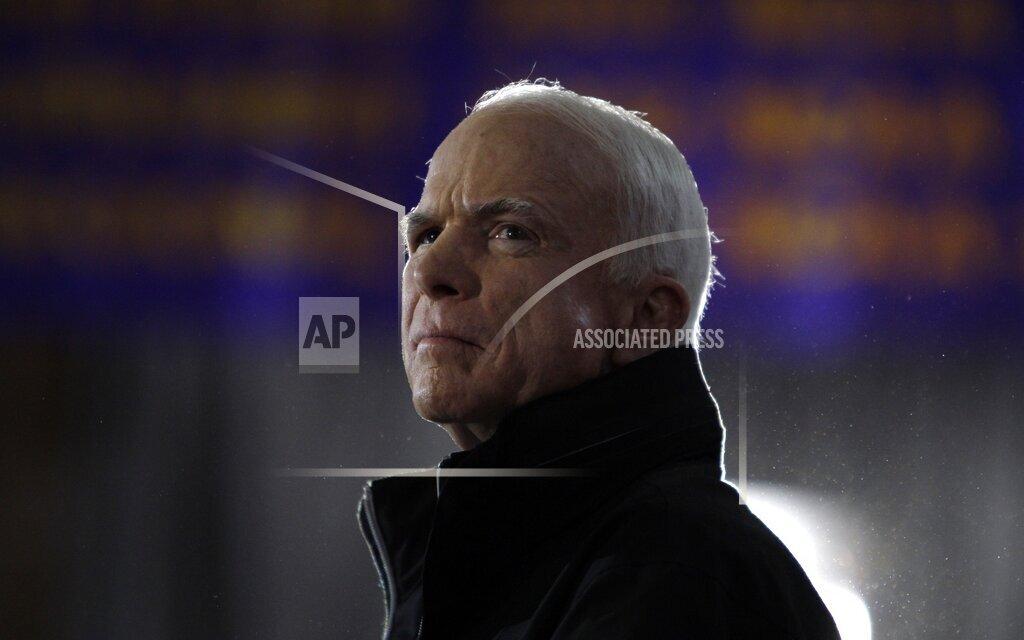 APTOPIX McCain 2008