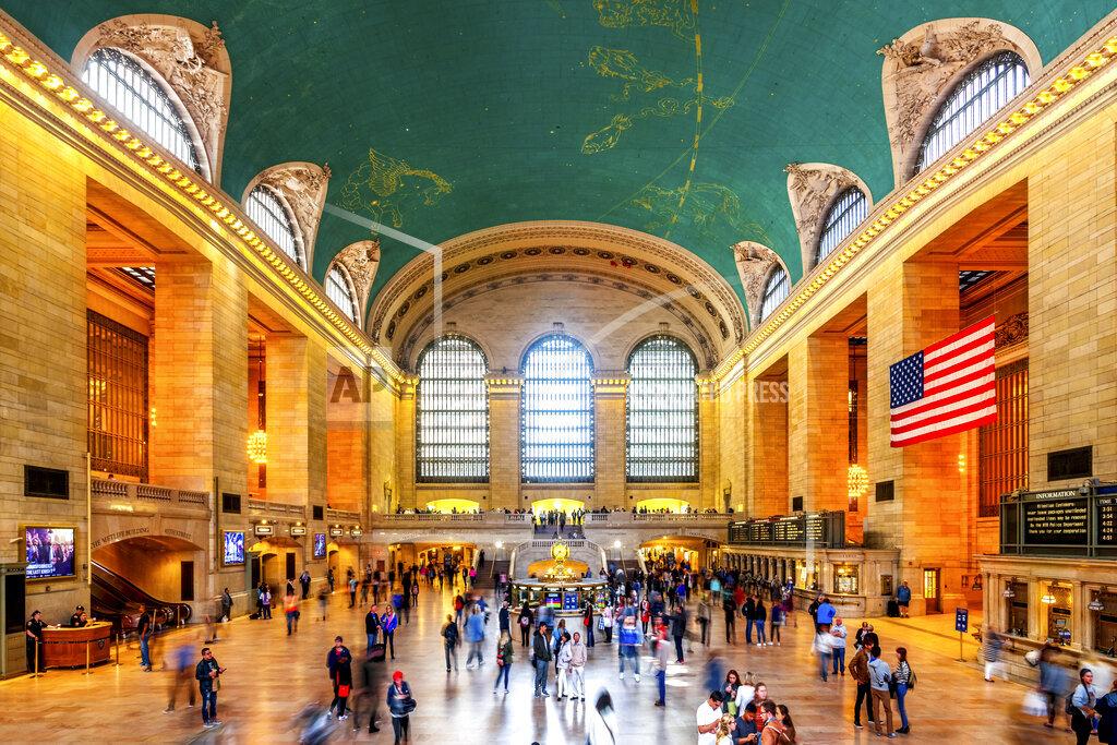USA, New York City, Manhattan, Grand Central Station