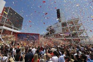 49ers Stadium Opening Football