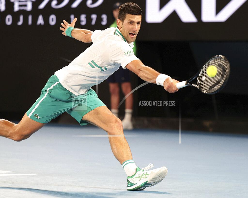 Tennis 2021: Australian Open: Djokovic Wins Mens Singles Final