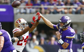 49ers Vikings Football