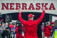 Nebraska Spring Game Football