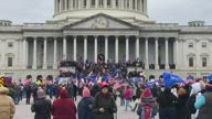 Protests at Capitol