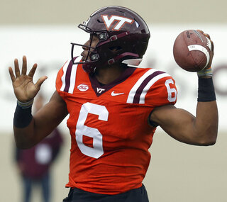 Virginia Tech Spring Game Football