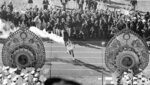 FILE - In this Oct. 10, 1964, file photo, Japanese runner Yoshinori Sakai carries the Olympic Torch during the opening ceremonies of the 1964 Summer Olympics in Tokyo. Every Japanese of a certain age has memories of the 1964 Tokyo Olympics. Even younger Japanese have connections through parents or aunts and uncles who saved old photos, faded certificates, or recall getting a television for the first time to watch the Games. (AP Photo, File)