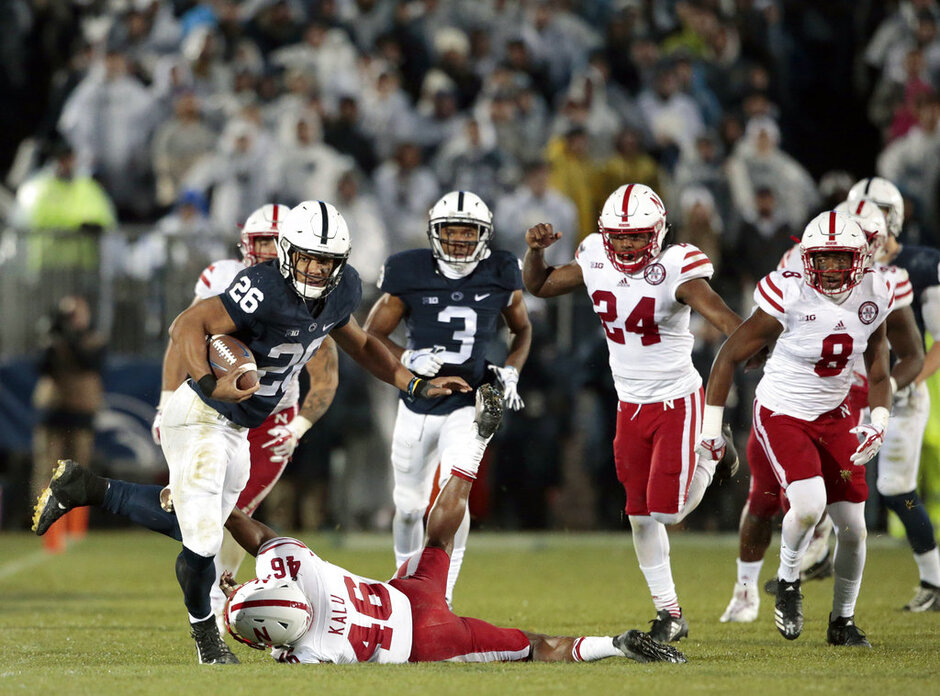 Nebraska Penn St Football