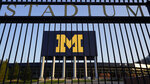 FILE - This Aug. 13, 2020 file photo shows the University of Michigan football stadium in Ann Arbor, Mich. A report says staff at the University of Michigan missed many opportunities to stop the late Dr. Robert Anderson, who committed sexual misconduct against hundreds of patients over decades at the school. (AP Photo/Paul Sancya, File)