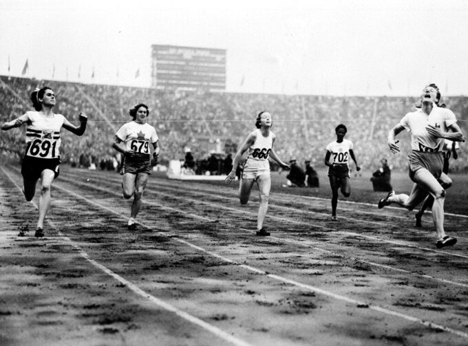 Fanny Blankers-Koen shattered myths at 1948 Olympics