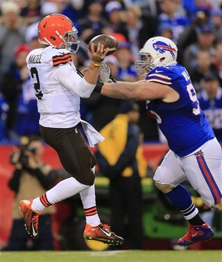 Bills Browns second half