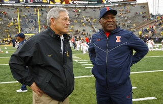 Kirk Ferentz, Lovie Smith
