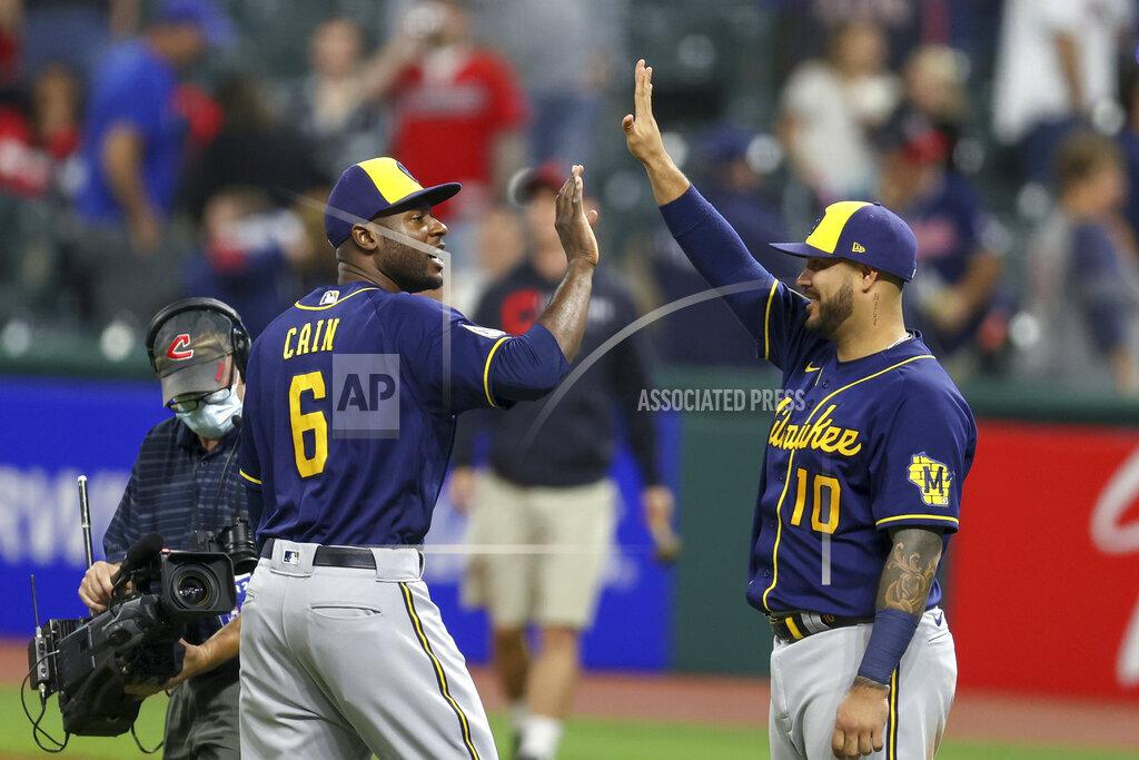 MLB: SEP 10 Brewers at Indians