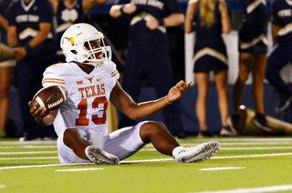 Texas Notre Dame Football