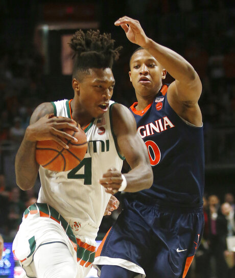 Devon Hall, Lonnie Walker IV