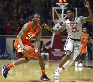 Syracuse Virginia Tech Basketball