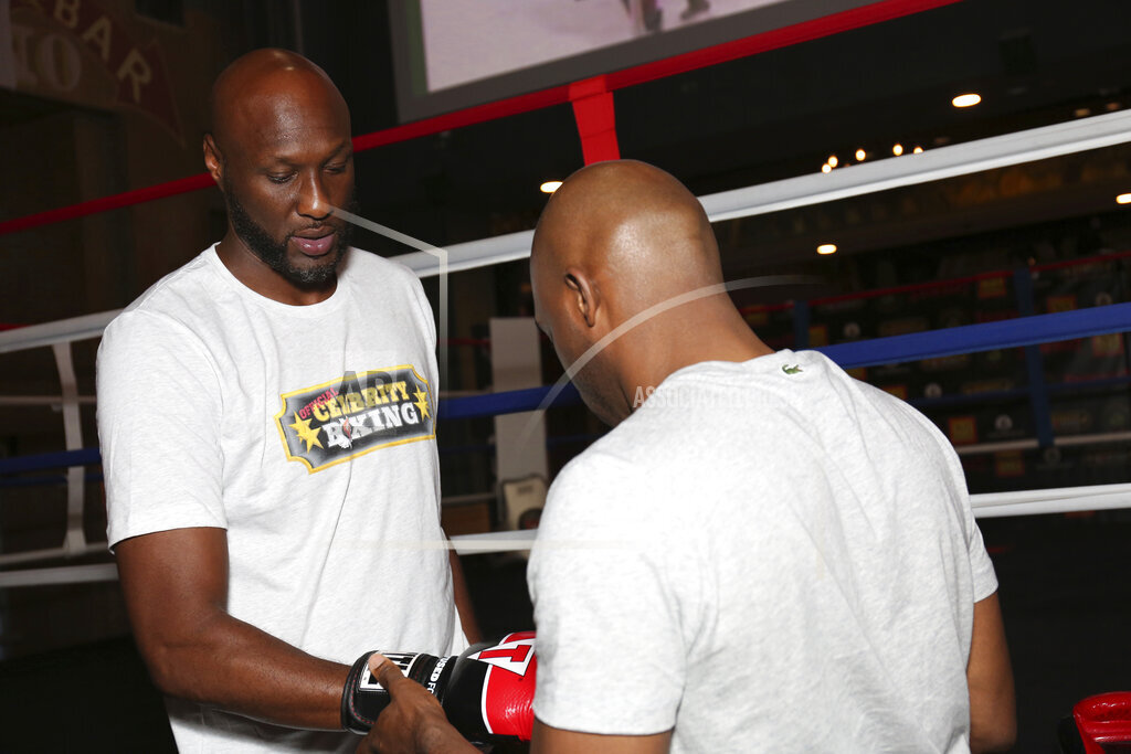 Lamar Odom Vs. Aaron Carter Training Session Day 1