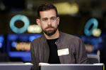 File- This photo taken Nov. 19, 2015, shows Square CEO Jack Dorsey being interviewed on the floor of the New York Stock Exchange. Facebook COO Sheryl Sandberg and Twitter CEO Dorsey won't stand for re-election to the board of The Walt Disney Co. A Disney spokesperson says it has become