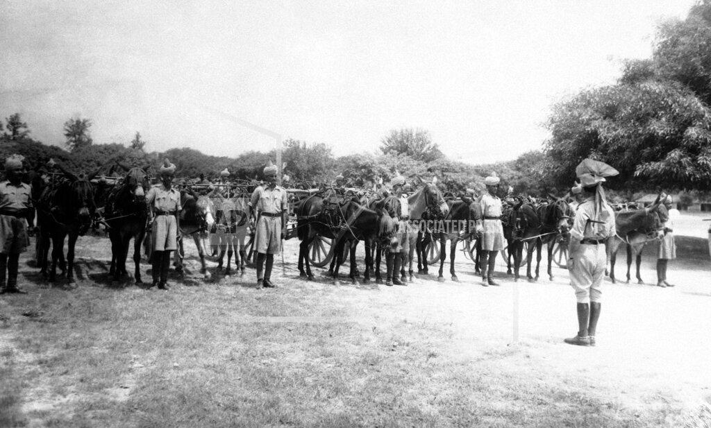 Watchf AP I   PAK APHSL39729 WWII Pakistan Animal Transport Company