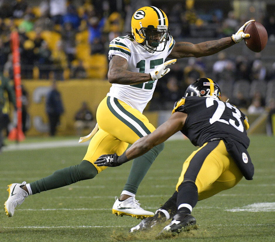 Davante Adams, Mike Mitchell