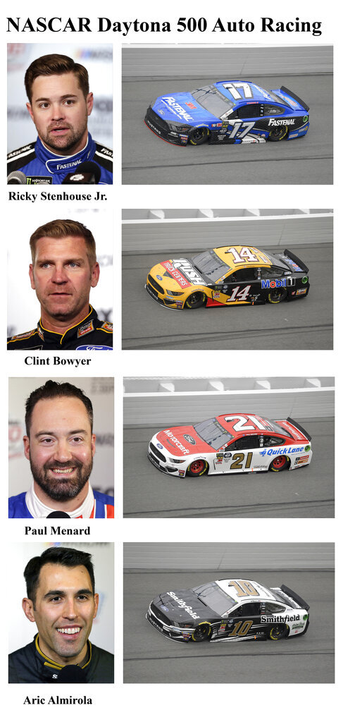 Drivers competing in the 2019 Daytona 500
