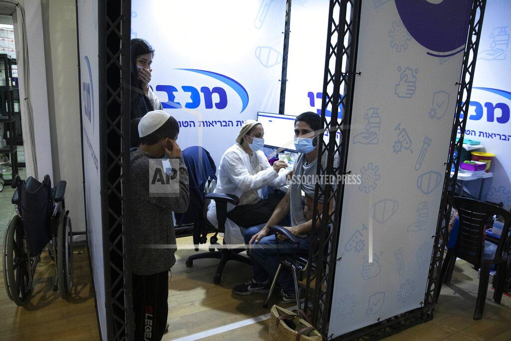 Virus Outbreak Israel