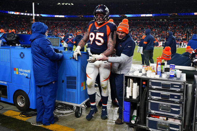 Broncos place Derek Wolfe on injured reserve