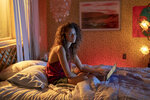 This image released by HBO shows Zendaya in a scene from