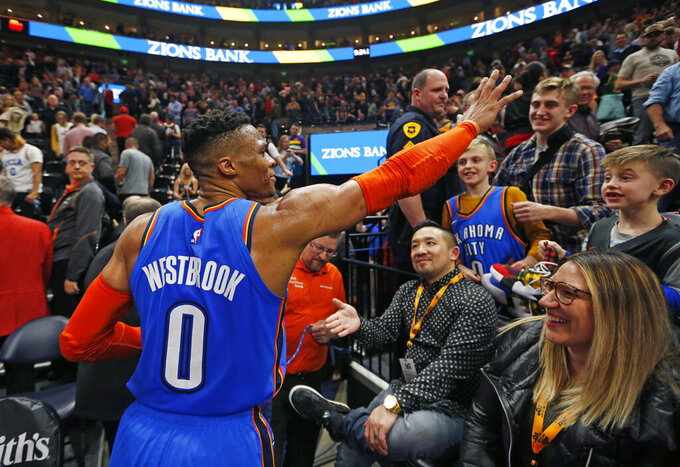 Mitchell, Jazz back Westbrook, say Utah won't condone racism