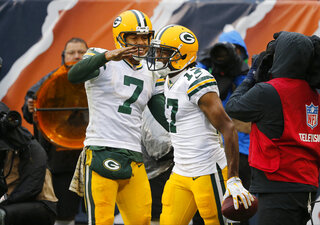 Brett Hundley, Davante Adams