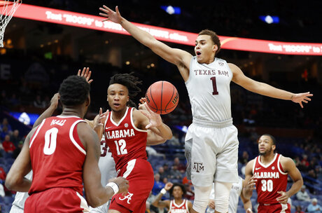 SEC Alabama Texas A M Basketball