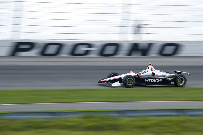 Newgarden looks to build on points lead at Pocono