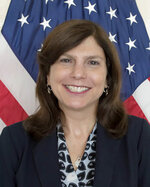 """This undated photo downloaded from the U.S. Embassy in Cuba website shows Mara Tekach, charge d'affaires for the U.S. Embassy in Cuba. On Wednesday, Nov. 20, 2019, Cuba accused Tekach on Wednesday, Nov. 20, 2019, of working closely with a detained head of one of the country's largest opposition groups. Tekach and the U.S. Embassy in Cuba have tried to foment division among Cubans, """"identifying areas of the economy where they can direct coercive measures, and trying to slander and discredit the performance of the Cuban government and Cuban revolution,"""" a Cuban government statement said. (U.S. State Department via AP)"""