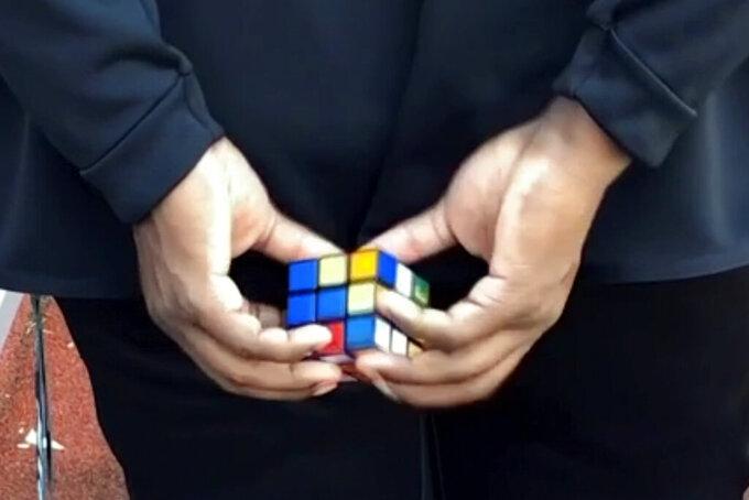 Broncos' puzzle-solving Anderson now Rubik's Cube ambassador