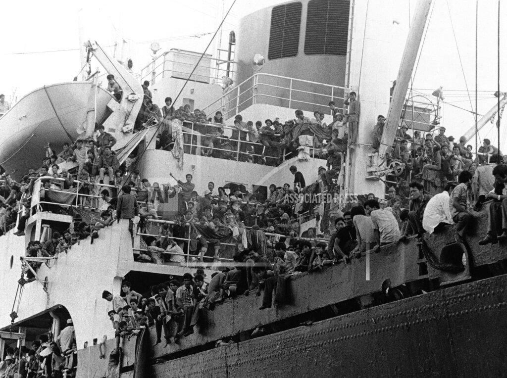 Watchf AP I   VNM APHS207454 Vietnam War Refugees