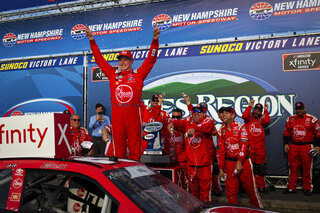 NASCAR Xfinity New Hampshire Auto Racing