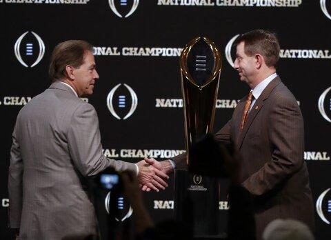 CFP National Championship Clemson Alabama Football