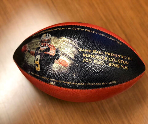 Saints-Brees Footballs