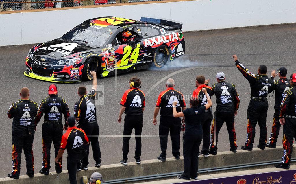 NASCAR Brickyard 400 Auto Racing