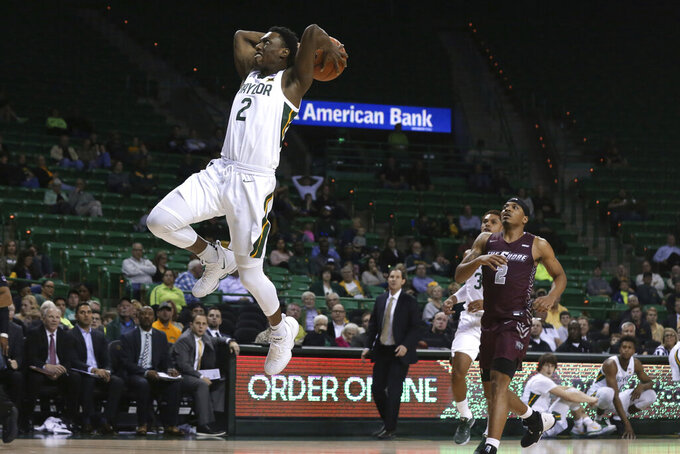 Butler scores 20 as No. 18 Baylor wins 78-46 over 0-10 team