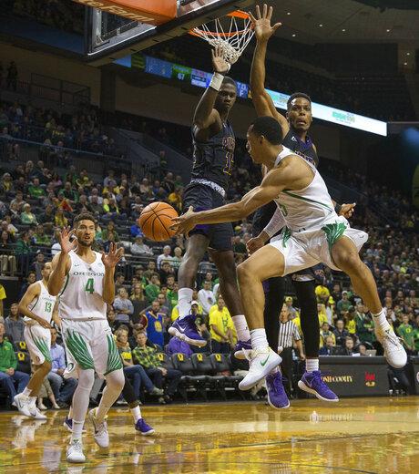 Prairie View A M Oregon Basketball