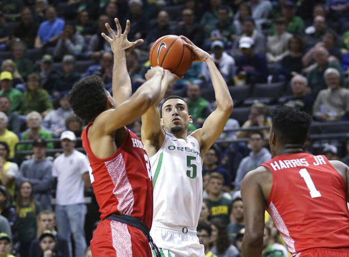 No. 11 Oregon pulls away from Houston for 78-66 victory