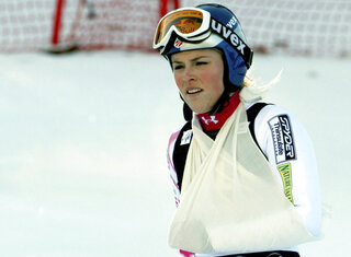 Vonn's Injuries Skiing Olympics
