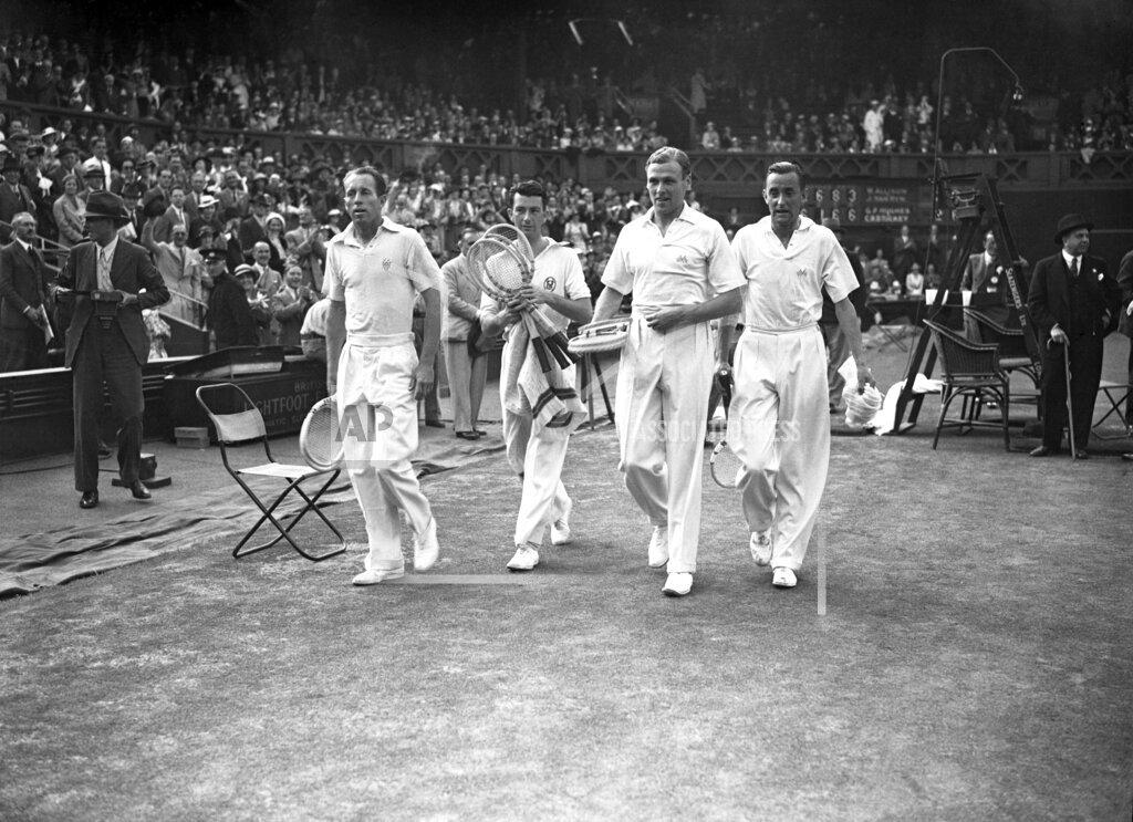 Watchf AP S TEN  GBR XEN APHSL12 Britain Retains The Davis Cup 1935