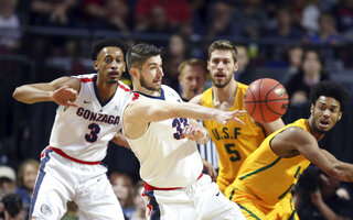 WCC San Francisco Gonzaga Basketball