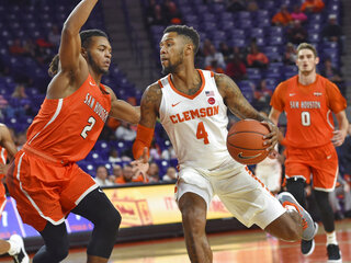 Sam Houston St Clemson Basketball