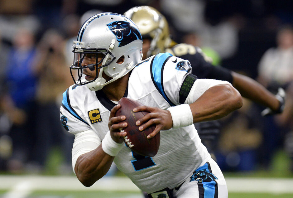 Panthers Saints Football